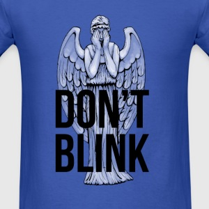 Don't Blink Long Sleeve Shirts - Men's T-Shirt