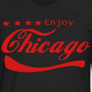 ENJOY CHICAGO - Men's Premium Long Sleeve T-Shirt