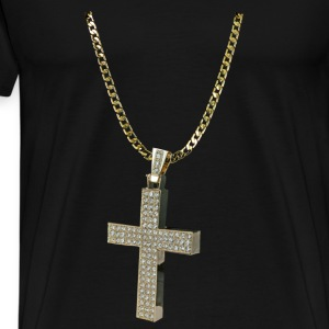 GOLD CHAIN Caps - Men's Premium T-Shirt