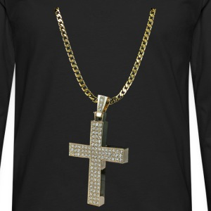 GOLD CHAIN Caps - Men's Premium Long Sleeve T-Shirt