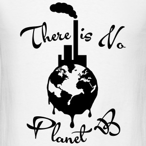 There is No Planet B Tanks - Men's T-Shirt
