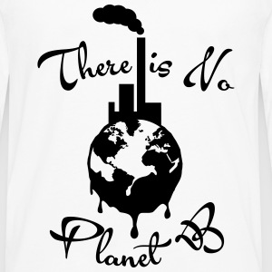 There is No Planet B Tanks - Men's Premium Long Sleeve T-Shirt