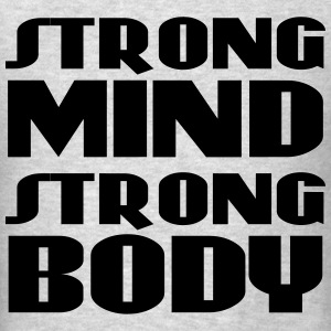 Strong mind, strong body Long Sleeve Shirts - Men's T-Shirt