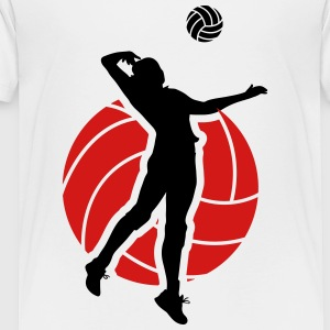 Volleyball  Kids' Shirts - Toddler Premium T-Shirt