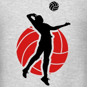 Volleyball  Hoodies - Men's T-Shirt