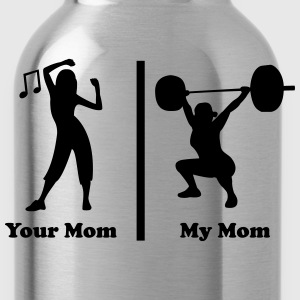 Your mom my mom funny fitness Kids' Shirts - Water Bottle