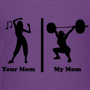 Your mom my mom funny fitness Kids' Shirts - Toddler Premium T-Shirt