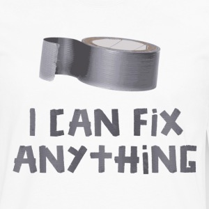 I Can Fix Anything with Duct Tape T-Shirts - Men's Premium Long Sleeve T-Shirt