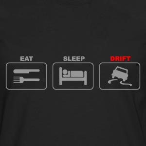 Eat Sleep Drift Car Stunt Tokyo Racing - Men's Premium Long Sleeve T-Shirt