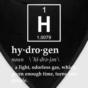 Definition of Hydrogen T-Shirts - Bandana