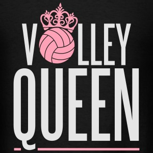 Volleyball Queen Hoodies - Men's T-Shirt