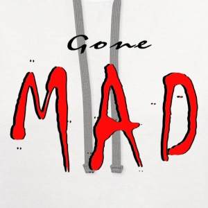 GONE MAD - Contrast Hoodie