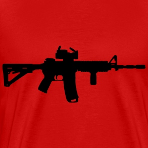 M4 - Assault Rifle Hoodies - Men's Premium T-Shirt