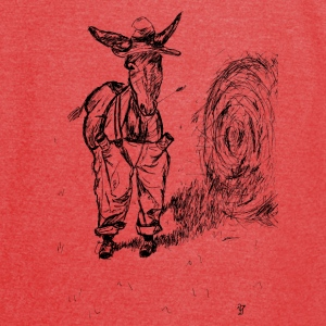 Donkey in a hat Bags & backpacks - Vintage Sport T-Shirt