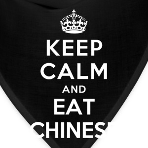 Keep Calm and Eat Chinese T-Shirts - Bandana