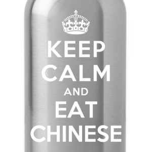 Keep Calm and Eat Chinese T-Shirts - Water Bottle