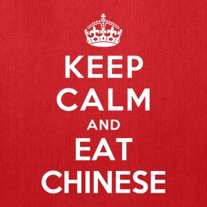 Keep Calm and Eat Chinese T-Shirts - Tote Bag