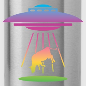 Alien UFO (Rainbow) Bags & backpacks - Water Bottle