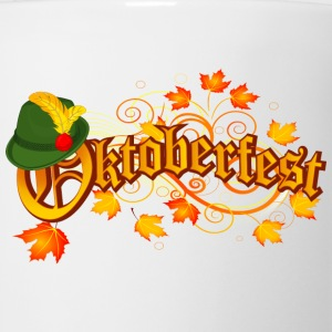 Oktoberfest orange logo - Coffee/Tea Mug