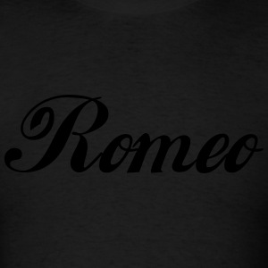 Romeo Hoodies - Men's T-Shirt