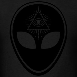 Alien (1 Color) Hoodies - Men's T-Shirt