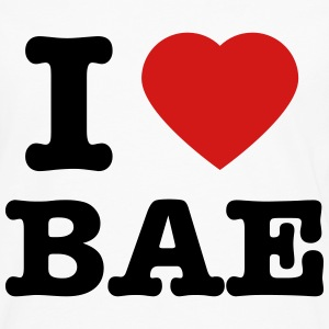 Men's I Love Bae T-Shirt - Men's Premium Long Sleeve T-Shirt