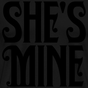 shes_mine Hoodies - Men's Premium T-Shirt