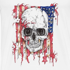 Skull & Flag Tanks - Men's Premium T-Shirt