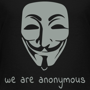 we are anonymous one color Kids' Shirts - Toddler Premium T-Shirt