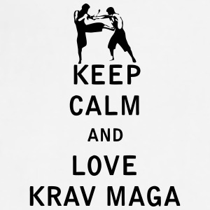 Keep Calm and Love Krav Maga - Adjustable Apron