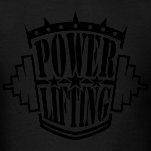 powerlifting Hoodies - Men's T-Shirt