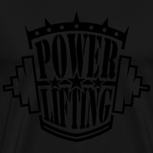 powerlifting Hoodies - Men's Premium T-Shirt