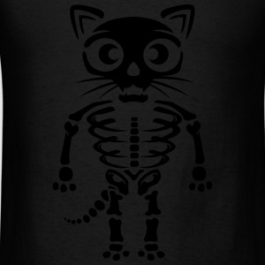 Cat skeleton Tanks - Men's T-Shirt