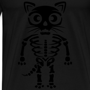 Cat skeleton Tanks - Men's Premium T-Shirt