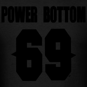 POWER BOTTOM 69™ Hoodies - Men's T-Shirt