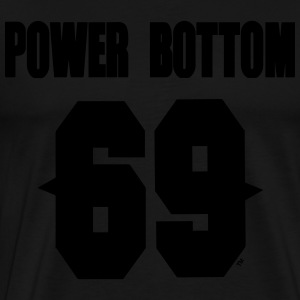 POWER BOTTOM 69™ Hoodies - Men's Premium T-Shirt