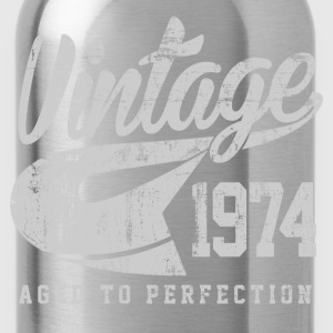 vintage 1974 T-Shirts - Water Bottle