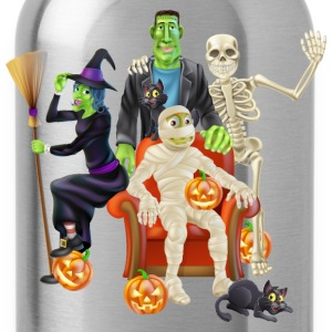 halloween characters - Water Bottle