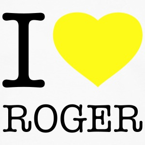 I LOVE ROGER - Men's Premium Long Sleeve T-Shirt