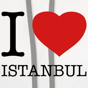 I LOVE ISTANBUL - Contrast Hoodie