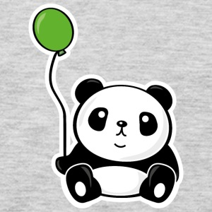 Panda with ballon Baby & Toddler Shirts - Men's Premium Long Sleeve T-Shirt