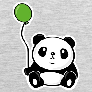 Panda with ballon Baby & Toddler Shirts - Men's Premium Tank