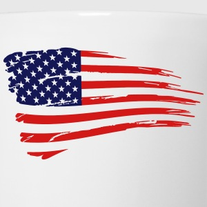 Retro American Flag T-Shirts - Coffee/Tea Mug