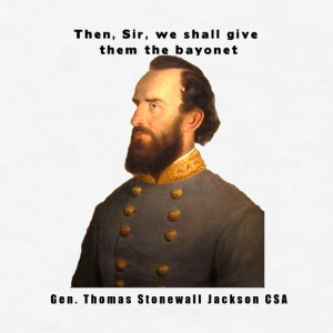 Gen Stonewall Jackson Civil War Series Coffee Cup - Men's T-Shirt