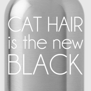 Cat Hair is the New Black Women's T-Shirts - Water Bottle