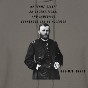 General U.S. Grant Civil Wars Series Shirt - Men's Hoodie