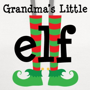 Grandchild Christmas Elf Kids' Shirts - Contrast Hoodie