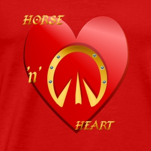 Horse 'n' Heart - Men's Premium T-Shirt