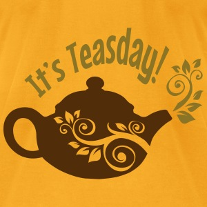 It's Teasday! - Men's T-Shirt by American Apparel