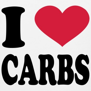 I Love Carbs T-Shirts - Men's Premium Tank